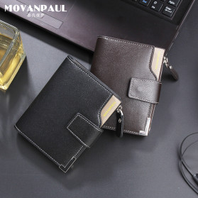 Baellerry Dompet Pria Model Short Double Layer - D1282 - Brown - 10