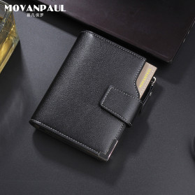 Baellerry Dompet Pria Model Short Double Layer - D1282 - Brown - 11