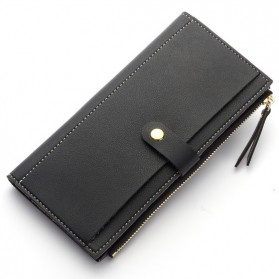 Baellerry Dompet Wanita Model Vintage Simple - N0123 - Black