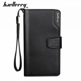 Baellerry Dompet Pria Model Panjang - S171B - Metallic Black