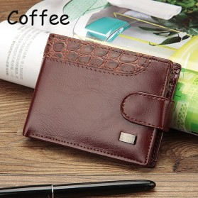 Baellerry Dompet Pria Vintage Hasp PU Leather - M1078 - Coffee