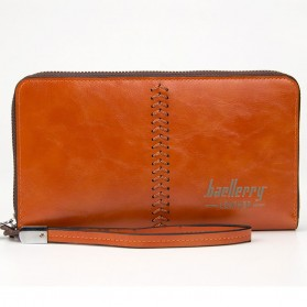 Baellerry Dompet Clutch Pria - W008 - Dark Brown - 1