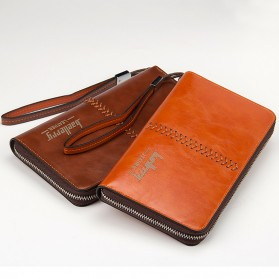 Baellerry Dompet Clutch Pria - W008 - Dark Brown - 4