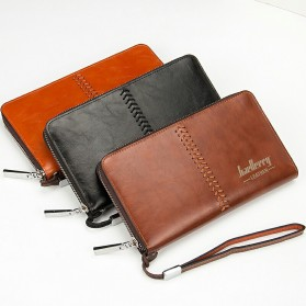 Baellerry Dompet Clutch Pria - W008 - Dark Brown - 5