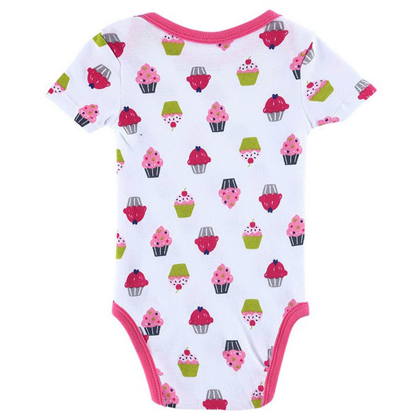 Baju Bayi Jumper Cowok Cewek Cute Pattern Size 6 Bulan White