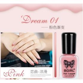 BGIRL Kutek Kuku Warna Gradient 11ml - Pink