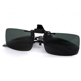 Lensa Jepit Kacamata Day Vision for Night Driving Polarized - Black - 2