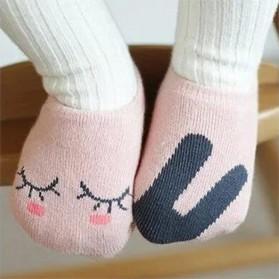 Kaos Kaki Bayi Cute Pattern - Size M - Pink