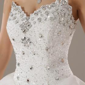Batu Crystal Dekorasi Fashion SS6 - White - 3