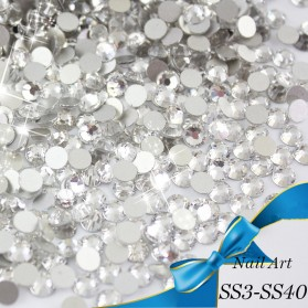 Batu Crystal Dekorasi Fashion SS3 - White - 4
