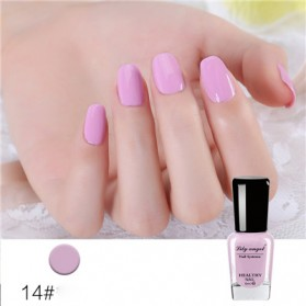 Lily Angel Kutek Kuku 7ml - No.14 Taro Purple
