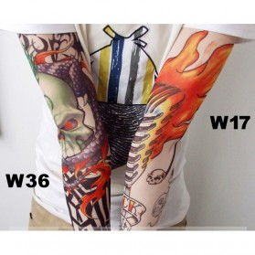 Sleeve Tato Palsu Temporary (Mix Motif) - Multi-Color