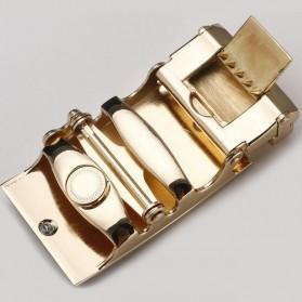 Kepala Gesper Ikat Pinggang Metal Model 6 - Golden - 3
