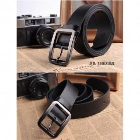 Tali Ikat Pinggang Kulit Style Jepang - Black - 2