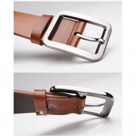 Tali Ikat Pinggang Kulit Style Jepang - Brown - 3