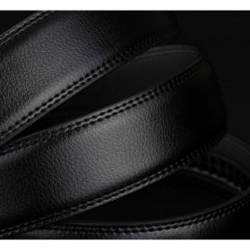 MEDYLA Tali Ikat Pinggang Kulit Premium Model 1 - AA7900 - Black - 2