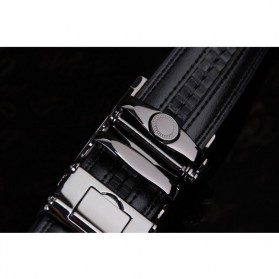 MEDYLA Tali Ikat Pinggang Kulit Premium Model 1 - AA7900 - Black - 4