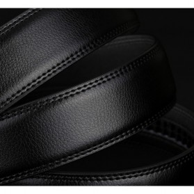 Ikat Pinggang Kulit Premium - Model 2 - Black - 2
