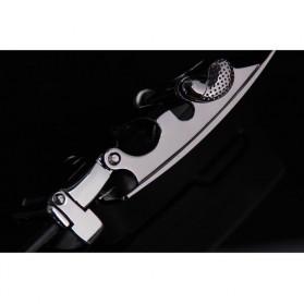 Ikat Pinggang Kulit Premium - Model 2 - Black - 5