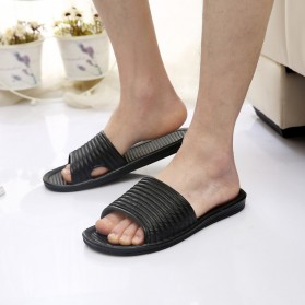Sandal Selop Karet Indoor Size 40 - Black