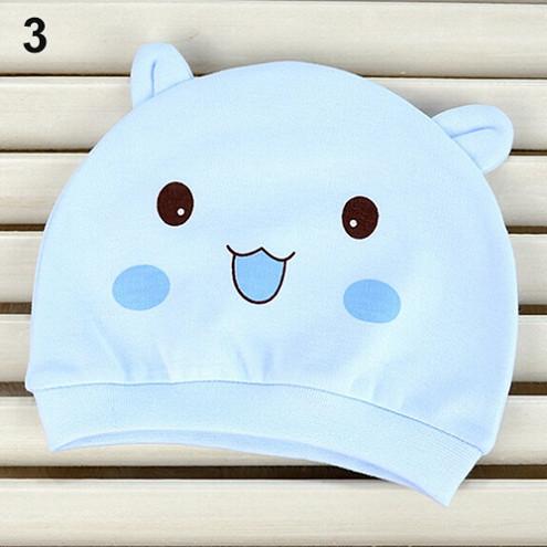 Topi Kupluk Bayi Lucu Model Kartun Beanie Hat - Blue - 1 . 0d5d32760a