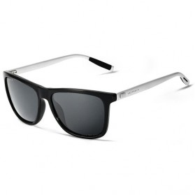 Veithdia Kacamata Retro UV Polarized - Gray
