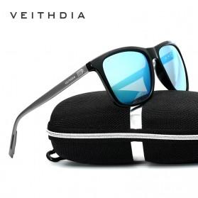 Veithdia Kacamata Retro UV Polarized - Gray - 3