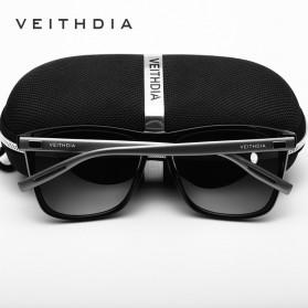 Veithdia Kacamata Retro UV Polarized - Gray - 4