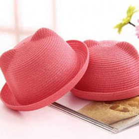 Head Bee Topi Laken Anak Model Baby Ear - Pink - 3