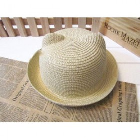Head Bee Topi Laken Anak Model Baby Ear - Beige