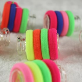 Ikat Rambut Model Rainbow 5 PCS - Multi-Color - 3