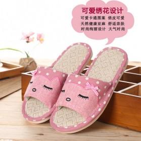ELEGANTJ Sandal Selop Wanita Cute Indoor ZJ-MM Size 37-38 - Pink