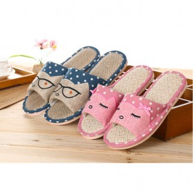 ELEGANTJ Sandal Selop Wanita Cute Indoor ZJ-MM Size 37-38 - Pink - 7