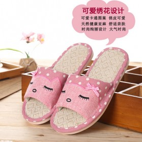 Sandal Selop Cute Indoor Size 39-40 - Pink