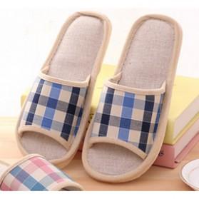 Suihyung Sandal Selop Linen Indoor Size 44-45 - YT3622 - Blue