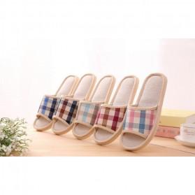 Sandal Selop Indoor Size 44-45 - Blue - 7