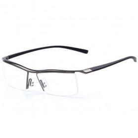 Frame Kacamata Minimalis Titanium - Gray