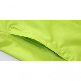 LENTHIMEN Jaket Olahraga Quick-dry Windbreaker Size XL - WY-01 - Black - 3