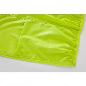 LENTHIMEN Jaket Olahraga Quick-dry Windbreaker Size XL - WY-01 - Black - 8
