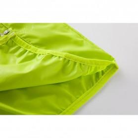 LENTHIMEN Jaket Olahraga Quick-dry Windbreaker Size XL - WY-01 - Black - 9