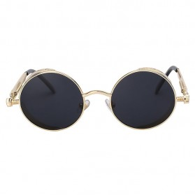 Kacamata Wanita Steampunk Polarized - NE60 - Black - 3