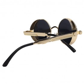 Kacamata Wanita Steampunk Polarized - NE60 - Black - 5