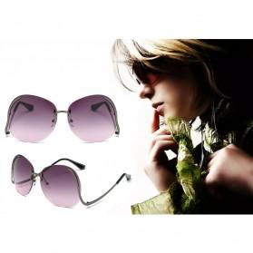 Kacamata Wanita Gradient Anti UV - Golden - 5