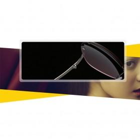 Kacamata Wanita Gradient Anti UV - Golden - 8