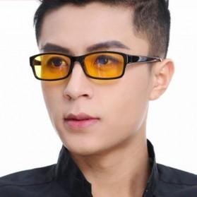 Brightzone Kacamata Anti Radiasi Komputer - 3028 - Black/Yellow - 2