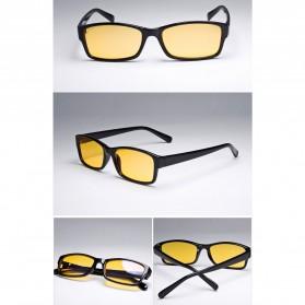 Brightzone Kacamata Anti Radiasi Komputer - 3028 - Black/Yellow - 4