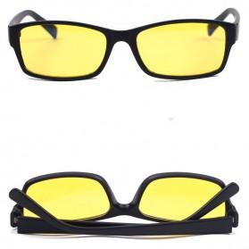Brightzone Kacamata Anti Radiasi Komputer - 3028 - Black/Yellow - 5