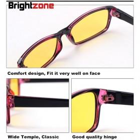 Brightzone Kacamata Anti Radiasi Komputer - 3028 - Black/Yellow - 6