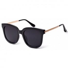 Kacamata Wanita Oversized Anti UV - Black