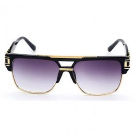 XIU Kacamata Wanita Anti UV - 9-1-6626 - Black/Silver - 2